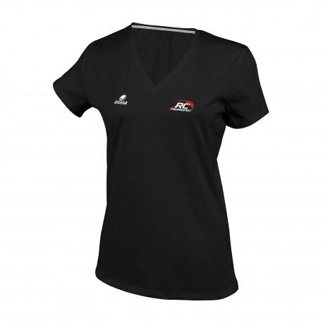Tee-shirt Femme col V RC PIERREFEU