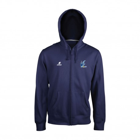Sweat zippé Marine BOURBON LANCY RUGBY