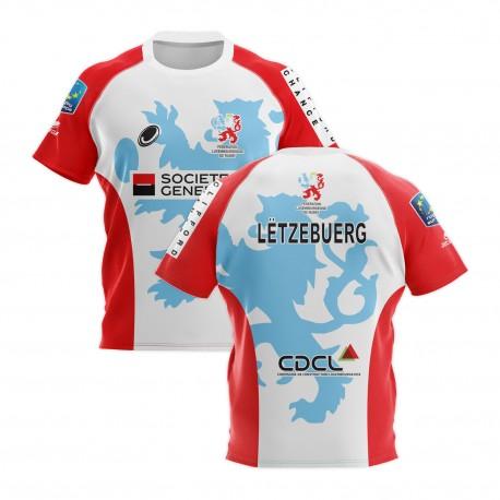Maillot réplicas Fédération Luxembourgeoise de rugby Away