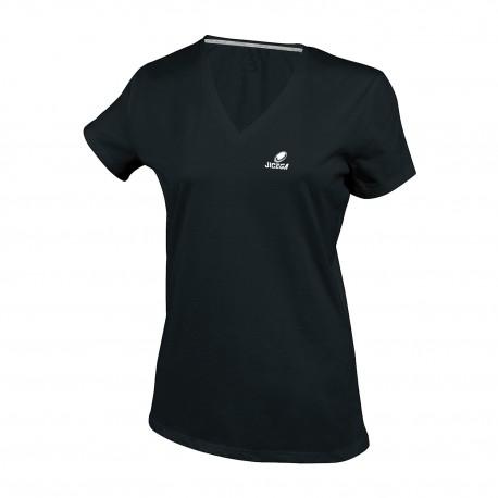Tee-shirt col V BRISTOL Noir