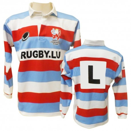 Maillot réplica Traditionnel Fédération Luxembourgeoise de rugby