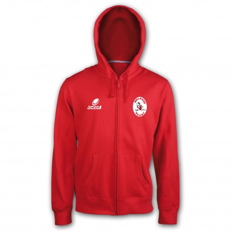 Sweat zippé MELESSE RUGBY