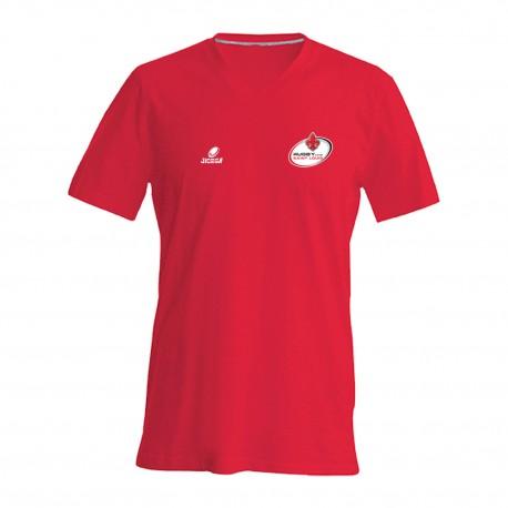 Tee-shirt col V RUGBY CLUB SAINT LOUIS