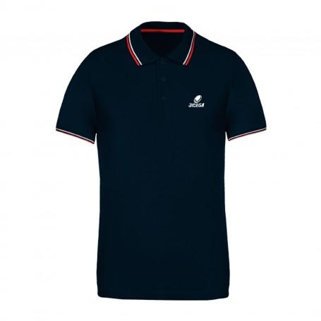 Polo couleurs contrastées BECKS Roy/Rouge/Blanc